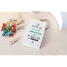 Llavero de madera personalizado - Llavero personalizado - LLavero de golf - Llavero personalizable
