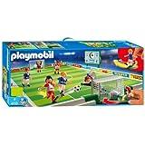 Playmobil  entrainement joueurs football dp BEOTNQ