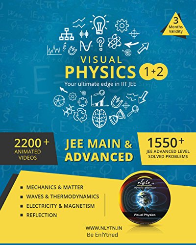 Nlytn Visual Physics I + II for IIT JEE - Master Concepts & Clear Doubts of JEE Physics in 3 Months (DVD)
