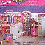 Barbie MAGIC KITCHEN Playset w Working Blender, Dining Light, Color Change Food & MORE!