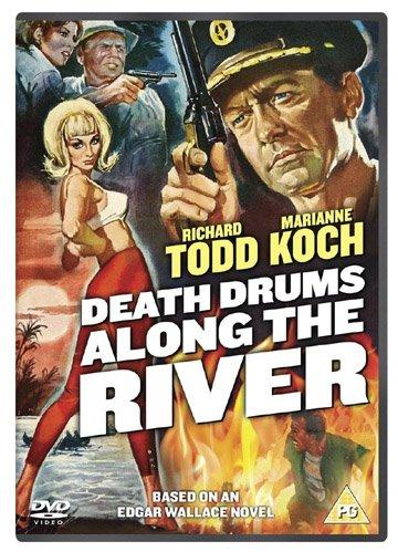 Todestrommeln am großen Fluß / Death Drums Along the River ( 1963 ) ( Sanders ) [ UK Import ]