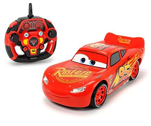 Majorette-Cars 3-RC-Autos Fernsteuerung. (Flash McQueen, Jackson Storm,...)-Leitern 1/161/24Und 1/32