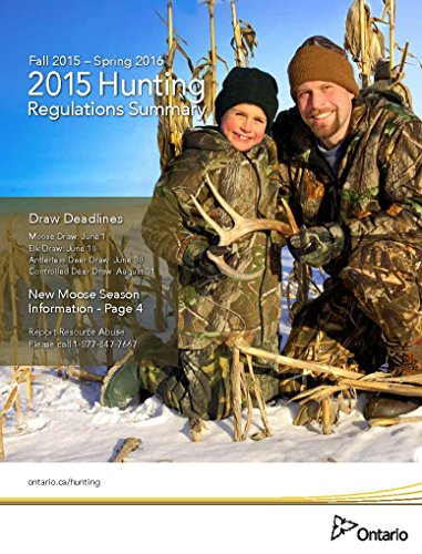 Ontario Hunting Regulations for 2015-2016 (Canada) (English Edition)