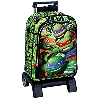 Montichelvo Tortugas Ninja – Trolley Mochila Tortugas Ready