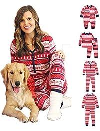 Juego De Pijamas De Algodón para Toda La Familia Pjs para Toda La Familia Juegos De Mejor Ropa De Dormir para Niños Navidad,120(Kids)