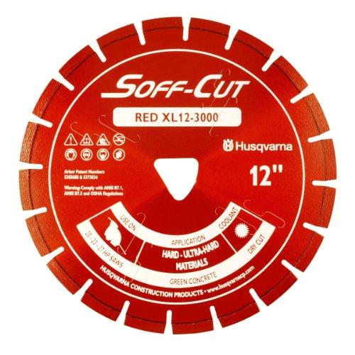 Husqvarna 542756107xl12–3000, Excel 3000Series, ULTRA Early Eintrag Beton Klinge, 12Zoll, Rot 12 Zoll Beton-sägeblatt