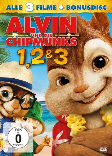 Preisvergleich Produktbild Alvin und die Chipmunks - Teil 1-3 (Special Edition, 4 Discs)