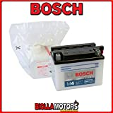 0092M4F170 BATTERIA BOSCH YB4L-B CON ACIDO YB4LB MOTO SCOOTER QUAD CROSS