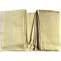 Tonyko Manta protectora de fibra de vidrio resistente, manta de supervivencia de emergencia, manta de soldadura y manta ignífuga con varios tamaños(1.2*1.2m)