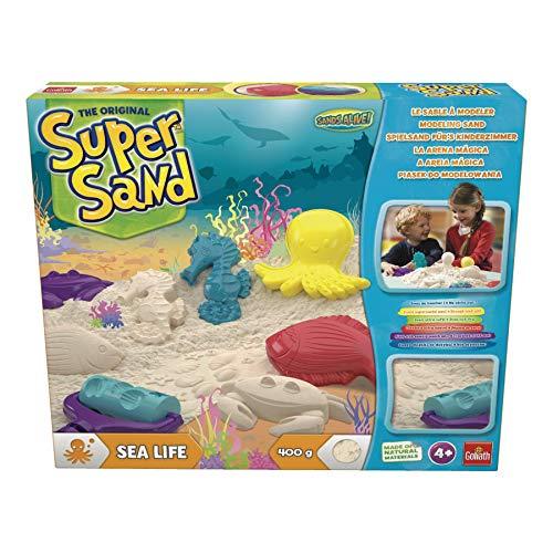 Goliath 83293 Super Sand Vida Marina, Color Blanco, única (83293)