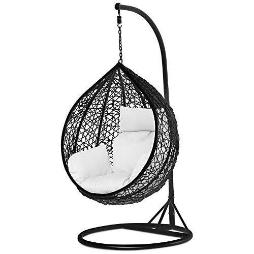 Charmant Tinkertonk Garden Patio Rattan Swing Chair Wicker Hanging Egg ...
