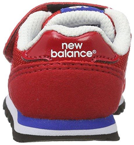 New Balance Kv373rdi M, Sneakers Basses Mixte Enfant Rouge (Red)