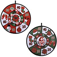 Wuudi - Diana de alta calidad con alambres redondos y material de fijación para decoración navideña, incluye 4 bolas de 2 unidades