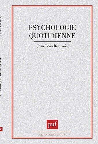 La psychologie quotidienne