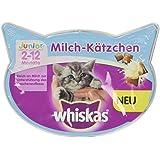 Whiskas Knuspertaschen Junior Milch-Kätzchen, 60 g