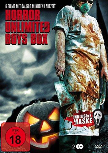 Horror Unlimited Boys Box (6 Filme auf 2 DVDs) Preisvergleich