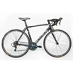 Cloot - Bicicletas de carretera - Ciclismo Ruta - Speed Race Shimano Claris WH grupo completo de 24 velocidades, Aluminio Triple Butted, Frenos Claris , Llantas Mach 1 700. Talla M-55 (1,74 a 1,83)