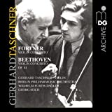 Forther: Violin Concerto; Beethoven: Violin Concerto, Op. 61