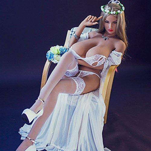 Juguete atractivo enorme de los maniquíes de la muñeca del silicón de la muñeca del sexo de la muñeca de 156cm Super enorme
