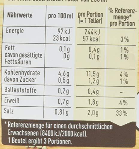 Maggi Guten Appetit, Waldpilz Cremesuppe, ergibt 3 Teller, 15er Pack (15 x 0.75 l)