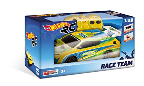 Mondo- Coche r/c Hot Wheels Mini 6 Modelos sdos Escala 1:28, 15x7x5,5 cm,, 21.1 x 10.9 x 10.9 (63253)