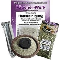 Räuchern 5-tlg. Set Räucherwerk Energetische HAUSREINIGUNG Kräuter und Engel im Einsatz #81043 | Räuchermischung... preisvergleich bei billige-tabletten.eu