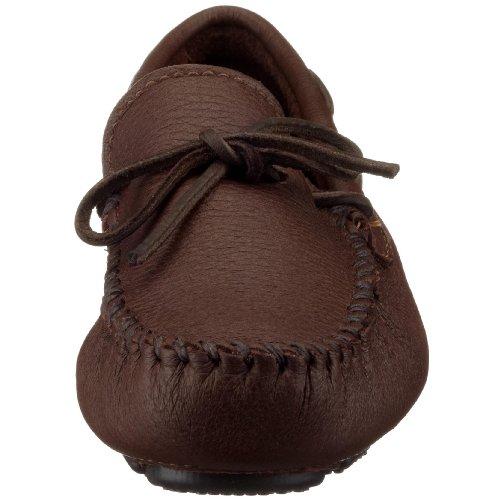 Minnetonka Moosehide Moc 952, Herren Mokassins Braun (cioccolato)