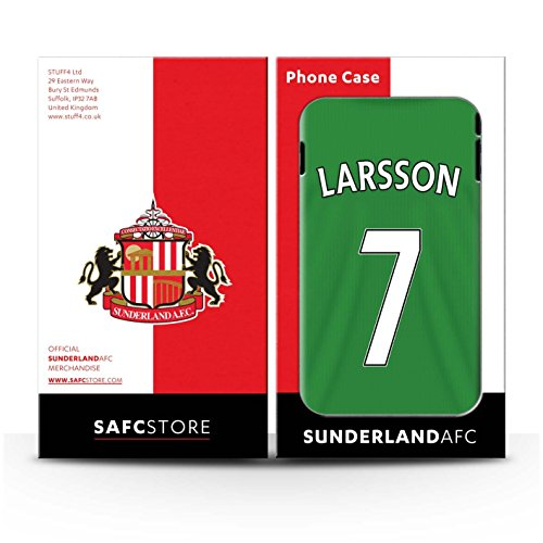 Officiel Sunderland AFC Coque / Clipser Brillant Etui pour Apple iPhone SE / Pack 24pcs Design / SAFC Maillot Extérieur 15/16 Collection Larsson