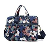 Best kayond 15 Inch Laptop Computers - KAYOND Watercolor orchid Patten Canvas Laptop Shoulder Messenger Review