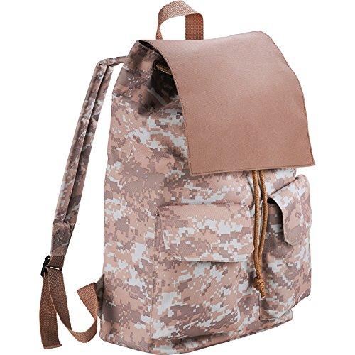 XtitiX Digital Camouflage Rucksack leicht Travel Tech Rucksack braun - High Sierra Business Cases