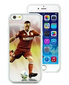 6 4.7 TPU Case,Frank Ribery 3 White iPhone 6 4.7 inch TPU case
