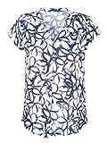 Alba Moda Damen Bluse femininer, floraler Print
