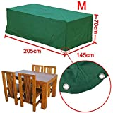 Popamaing High Quality Waterproof Outdoor Wicker Rattan Garden Bench Furniture Protective Cover Patio Tables & Chairs Cover Wicker Rattan(M(81x57x28
