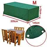 Popamazing Waterproof Protective Garden Furniture Cover for Outdoor Patio Rattan Dining sets, Cube Sets & Sofa Sets - Various Sizes(M)