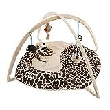UEETEK Cuscino per gatti Palestrina tappetino con un giocattolo sospeso (Kirin)