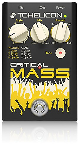 TC HELICON Critical Mass Vocal Stomp Box für große group-sound Effekte