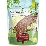 Food to Live Semillas de rábano orgánicas certificadas para brotar 453 gramos