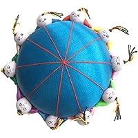 Alfiletero con diseño de flores retro de aguja Rimobul 10 para niños - azul
