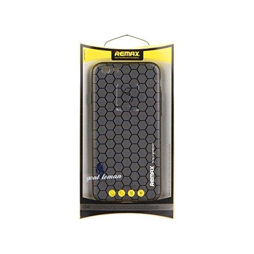 Remax 99356146990078 Case Gentleman series für Apple iPhone 7 karo honigwabe