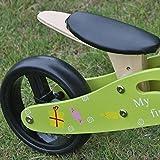MY FIRST BIKE Lern Laufrad Dreirad für Kinder und Kleinkinder ab 1 Jahr mit 3-fach höhenverstellbarem Sattel und 2 in 1-Funktion