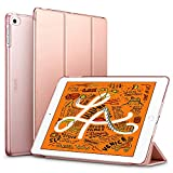 ESR Smart Cover Pieghevole Serie Yippee per iPad 7,9 iPad Mini 2019, Custodia Leggera con Auto Standby/Accensione, Fodera in Microfibra, Cover Posteriore Rigida per iPad Mini 5, Rose Gold