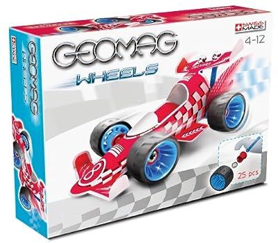 Geomag - Wheels Race 1, juego de construcción (701) por Giochi Preziosi