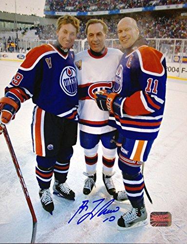 Generic Guy Lafleur, Mark Messier and Wayne Gretzky 8x10 - Montreal - Edmonton -