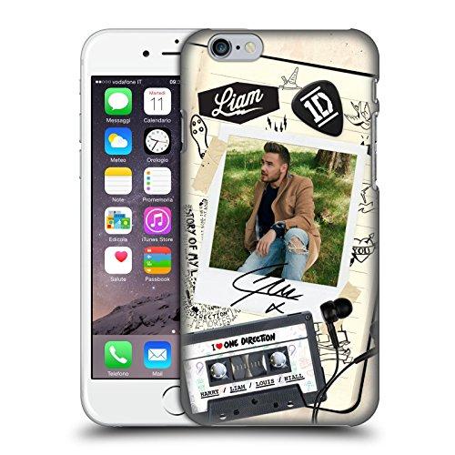 Head Case Designs Ufficiale One Direction Liam Payne Foto Polaroid Cover Dura per Parte Posteriore Compatibile con iPhone 6 / iPhone 6s