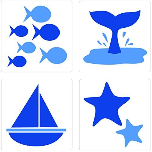 plage-260512-adesivi-per-ceramica-e-piastrelle-smooth-mare-4-fogli-145-x-145-cm