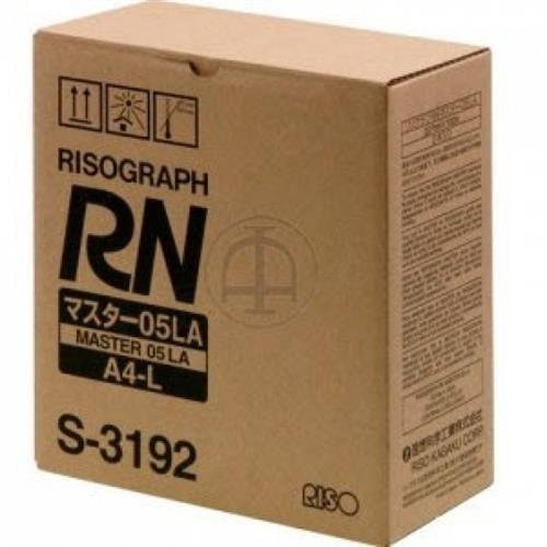 Risograph RN2030UI, 2130UI, 2235UI, 2530UI Master (215 Sheets, Roll) (2 Rolls/Carton), Part Number S-3192 by RISO - Risograph Master