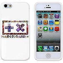 Martin Garrix - Show Tomorrowland blanco cover Cover Your Funda iphone 5/5S cover and Funda iphone 5 cover ( negro Hard Plastic )