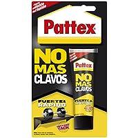 Pattex No Mas Clavos, adhesivo multimaterialy resistente, color blanco, 100 gr