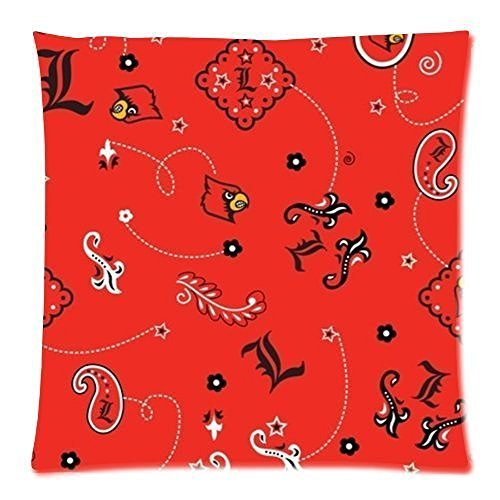 Customized Louisville College Print Zippered Pillow Cases 20x20 (two side) (Louisville College)