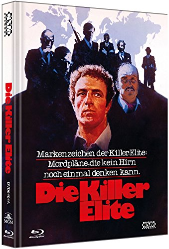 Die Killer Elite [Blu-Ray+DVD] - uncut - auf 333 limitiertes Mediabook Cover A [Limited Collector's Edition] [Limited Edition]
